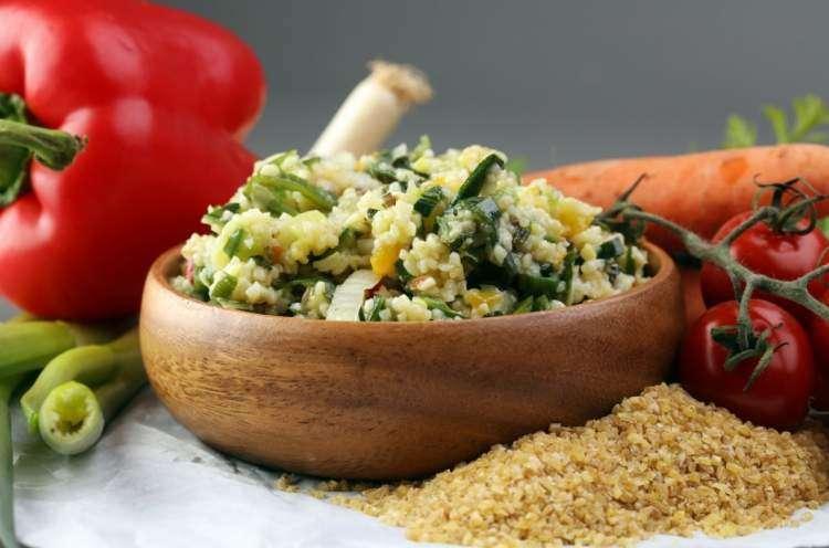 Салат из Бургуля на Шабат