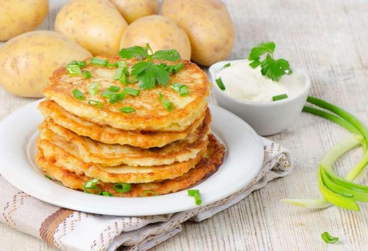 Картофельные левивот на Хануку
