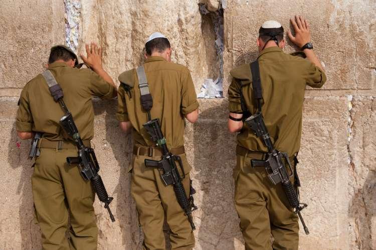 Молитва Ми ше-Берах за солдат Цахаля