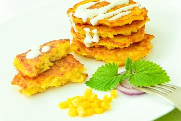 Рецепт кукурузных левивот на Хануку - вкусно, быстро и легко
