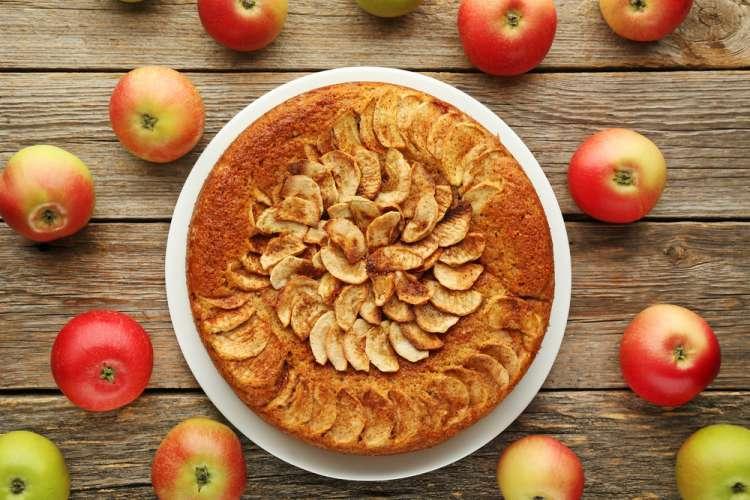 Рецепт на Песах - яблочный пирог